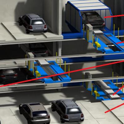 Hệ thống đỗ xe dạng Trolley Parking