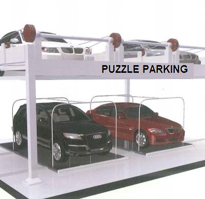 Hệ thống đỗ xe dạng Puzzle Parking