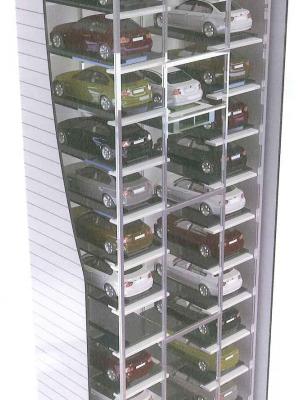 Hệ thống đỗ xe dạng Tower Parking