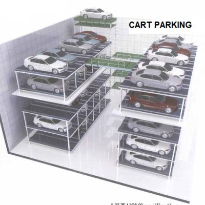 Hệ thống đỗ xe dạng Cart Parking